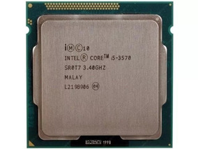 Processador Core I5 3570 Lga 1155 3,40ghz Tmax. 3,80ghz Novo