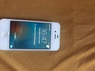 iPhone 4s 16 Gb Com Carregador E Cabos Originais