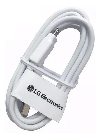 Cable Turbo Original Lg Usb Micro V8 Carga Datos X Q6 Q10
