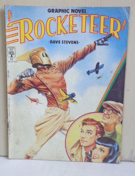 Rocketeer Dave Stevens Graphic Novel