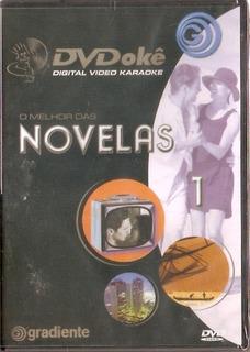 Dvd Dvdokê - O Melhor As Novelas 1 - Novo***