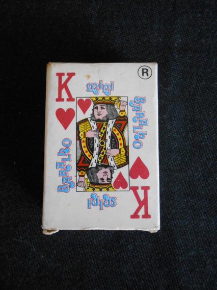 Mini Jogo De Baralho - Mini Cartas - 4cm X 6cm