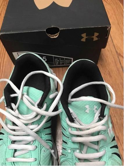 Zapatillas Under Amour 24,5 Cm-impecables-la Plata-