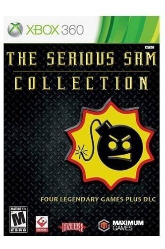 Jogo The Serious Sam Collection Xbox 360(mídia Física)
