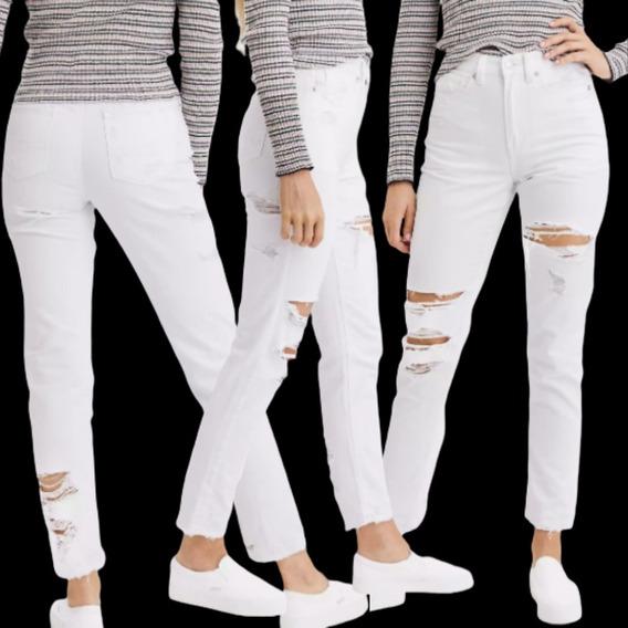 Pantalones Jeans Y Joggings American Eagle Para Mujer Tiro Alto Mercadolibre Com Ar