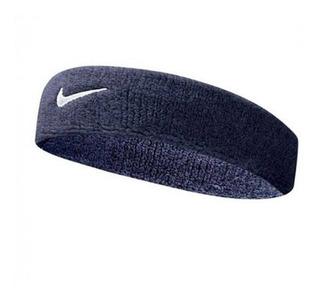 Testeira Swoosh Headband Azul Marinho Ref: Nim004 - Nike
