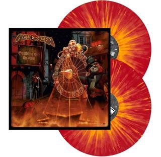 Helloween Lp Gambling With The Devil Vinil Splatter 2-lps