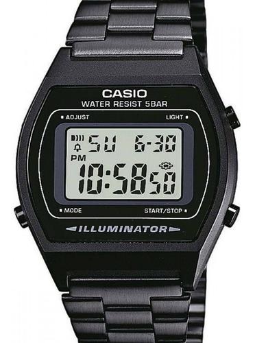 Relógio Casio Vintage Unissex  Digital Preto - B640wb-1adf