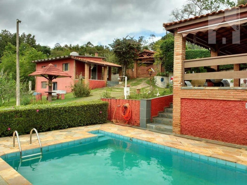 Chácara Com 2 Dormitórios À Venda, 2644 M² - Jardim Santa Cecília - Nazaré Paulista/sp - Ch0130