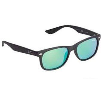 6e77c75156 Gafas Sol Ray Ban Wayfarer Folding Marco Negro Lente Verde - $ 169.900 en Mercado  Libre