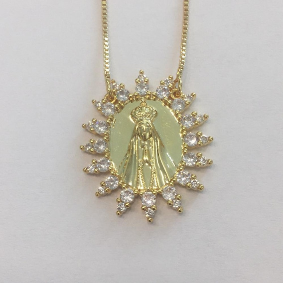Collar Virgen Chico Oro