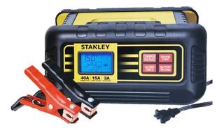 Cargador Batería Carro Banco De 15 Amperios Stanley Bc15bs