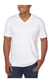 Camisetas Para Caballero Cuello V (4 Piezas) Calvin Klein