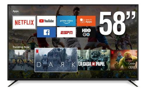 Televisor Smart Tv North Tech 55 Led 4k Wifi Netflix Netkey