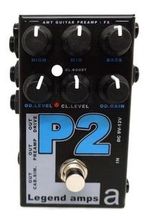 Pedal Legends Amps Amt P2 Emulador Peavey 5150 Rd Music
