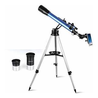 Telmu Telescopio 60 Mm De Apertura Y 700 Mm De Distancia Foc