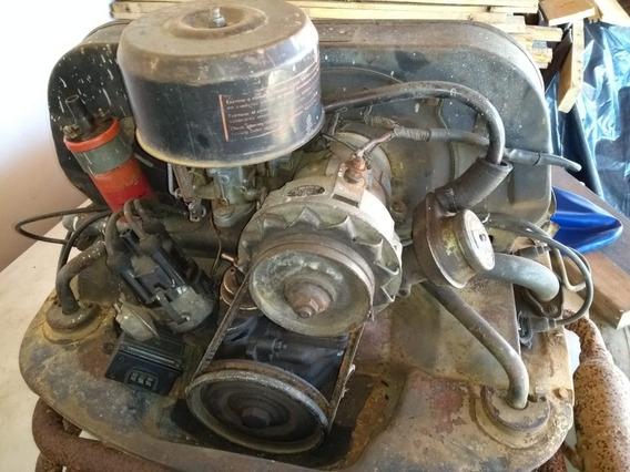 Motor Vw 1600 / Usado / Sem Numeração-termoking