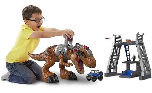 Enorme Dinosaurio T-rex Imaginext Para Niños Jurassic Park