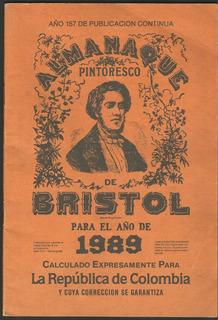 Almanaque Bristol 1989