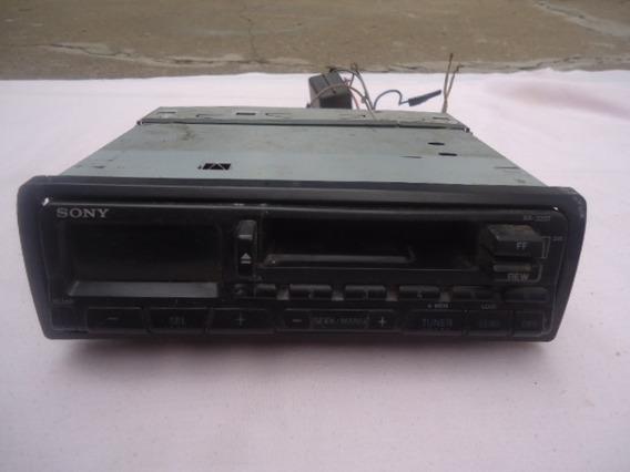 Rádio Toca Fitas Sony - Xr-3207 - Funcionando - Frete Grátis