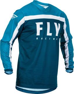 Jersey Fly Racing F-16 Azul/azul/blanco 5x