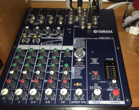 Mesa De Som Yamaha Mg82-cx