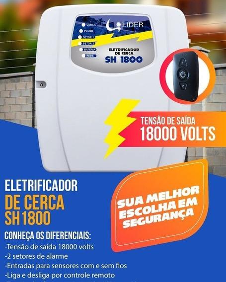 Central De Cerca Eletrica E Alarmes +bateria E Sirene+brinde