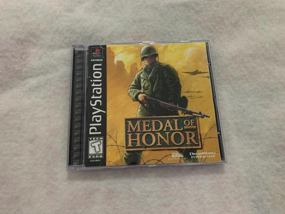Medal Of Honor Ps1 Original Completo Americano - No Estado