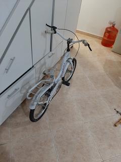 Bicicleta Para Nena Fiorenza Rodado 16 Niña Blanca