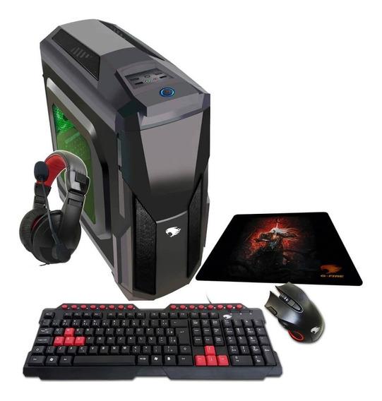 Pc Gamer G-fire Htg-318 A6 7400k 8gb R5 2gb Integrada 500gb