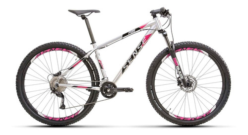 Imagem 1 de 7 de Bicicleta Sense Fun Evo 2021/22 Alum/roxo Tam S 18v