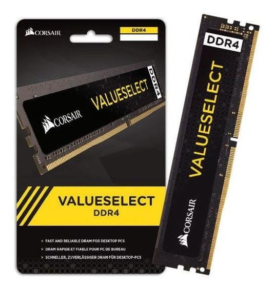 Memoria Desktop Ddr4 Corsair 16gb 2400mhz Dimm Cl16 288-pin