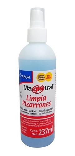Imagen 1 de 2 de Liquido P Limpiar Pizarron Blanco Desmancha Protege Atomizad