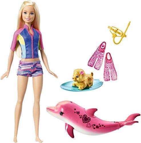 Barbie Delfín Magic Snorkel Fun Friends Playset