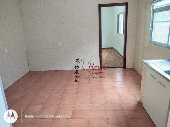 Casa Com 1 Dormitório Para Alugar, 55 M² Por R$ 700,00/mês - Vila Zat - São Paulo/sp - Ca1021