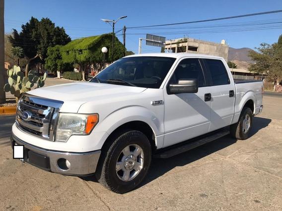 Ford Lobo Doble Cabina 2010 Blanca