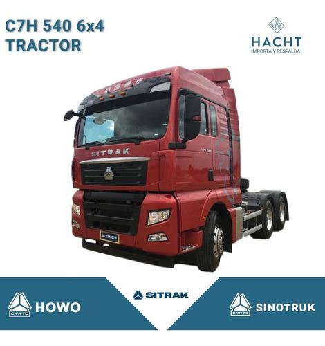 Sinotruk C7h 540 6x4 Tractor Sitrak Howo