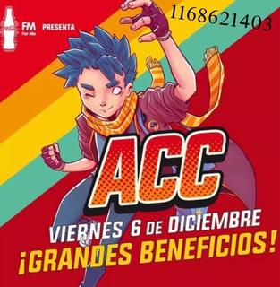 Entrada Golden Arg Comiccon 2019 - Día Viernes 6 De Dic