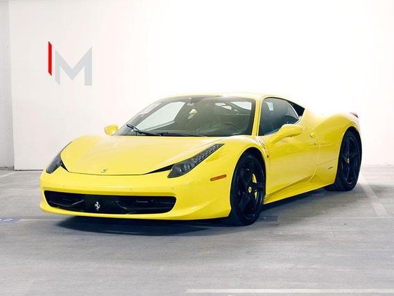 Ferrari 458 Italia Coupe Realmente Impecable 2011