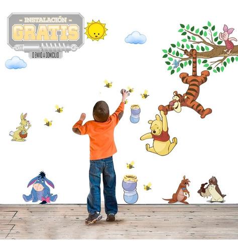Vinilo Decora Infantil Vinil Winnie Pooh +instalacion Envio