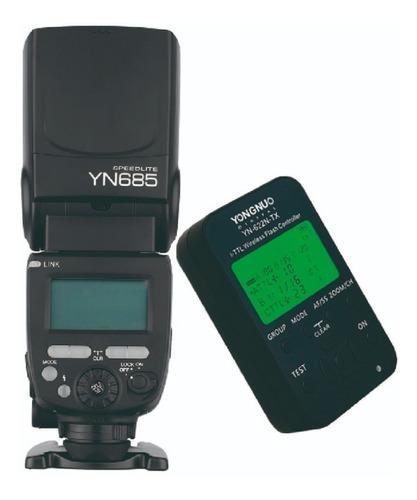 Flash Yn 685 + Yn622 Tx Para Nikon