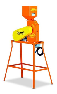 Moledora De Granos N°1 Loyto Completa 200kg/h Motor De 1hp