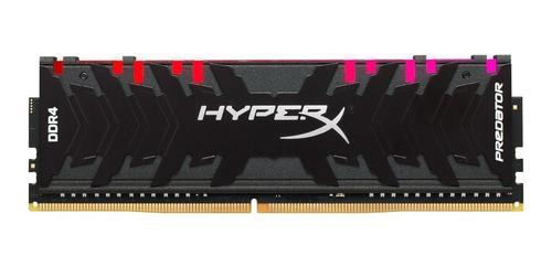 Memória RAM Predator color Preto  8GB 1x8GB HyperX HX432C16PB3A/8