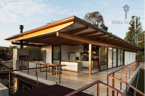 Imagem 1 de 24 de Casa 5 Dormitórios À Venda, 400 M², Residencial Ecológica Patrimônio Do Carmo Em São Roque/sp - Ca0448