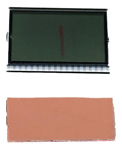 Display Lcd Do Painel Biz 125+ 06 A 10 + Borracha De Contato