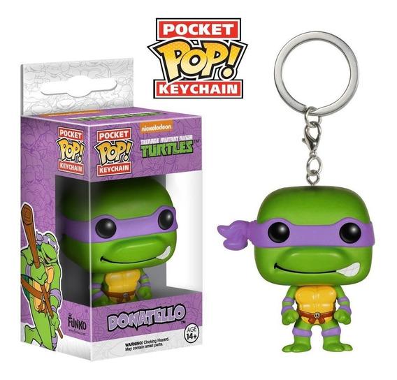 Chaveiro Donatello - Tartarugas Ninja - Pocket Pop! Funko
