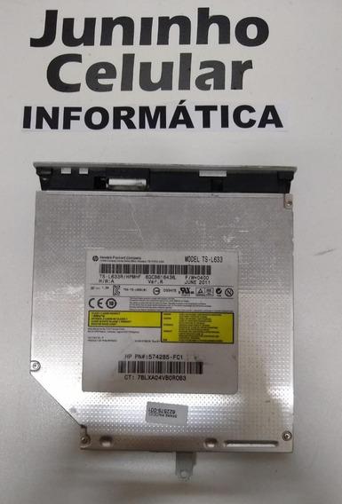 Leitor E Gravador Cd/dvd Sata Ts-l633 Notebook Hp