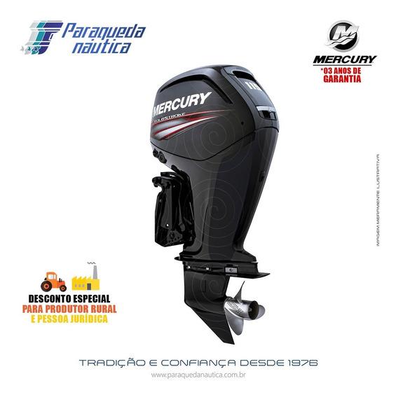 Motor De Popa Mercury 4 Tempos 115hp Elpt Efi Ct