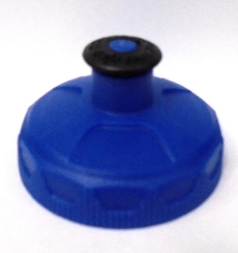 Tampa Garrafa Caramanhola Térmica Polar Bottle Azul.
