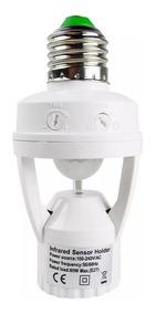 Kit 4 Sensor De Presença P/ Lâmpada + Fotocelula Iluminação